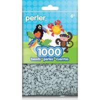 Perler Beads 1,000/Pkg-Pewter