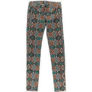 Celebrity Pink Womens Juniors Twill Pattern Pants