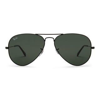 Link to Ray-Ban Aviator Classic Sunglasses 58mm Black Frame Similar Items in Men's Sunglasses