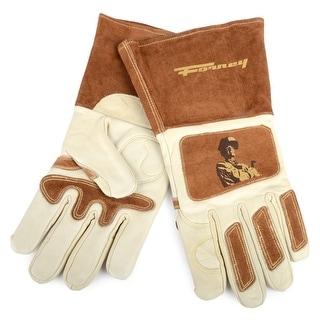 "Forney 53410 Forney ""Signature"" Men's Welding Gloves, Large Size"