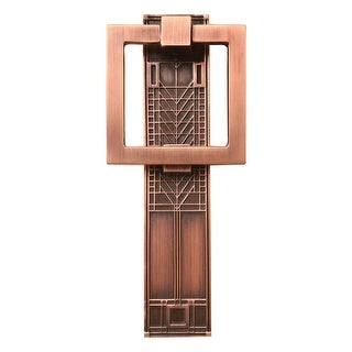 Architectural Mailboxes Frank Lloyd Wright Tree of Life Doorknocker - Solid Brass Accent - Copper or Pewter Finish