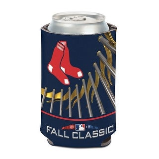 Boston Red Sox 2018 American League Champions 12oz. Can Cooler - Blue