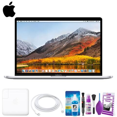 """Apple 15.4"""" MacBook Pro with Touch Bar (MR962LL/A Mid 2018, Silver)"""