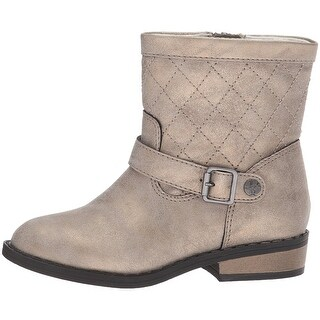 Jessica Simpson Girls Peyton Ankle Zipper Western Boots - 10 youth girls