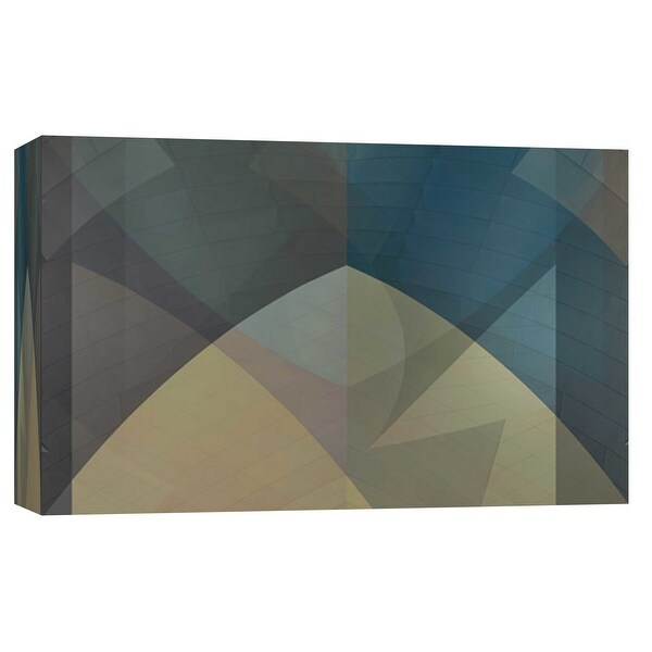 """PTM Images 9-102278 PTM Canvas Collection 8"""" x 10"""" - """"Geary V2A"""" Giclee Abstract Art Print on Canvas"""