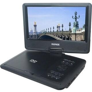 "Maxmade MDP919 Maxmade MDP 919 Portable DVD Player - 9"" Display - 800 x 480 - DVD-R, CD-R - JPEG - DVD Video - CD-DA, WMA -"