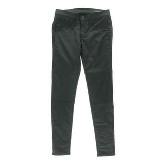 Rag & Bone Womens Devi Lace-Up Shoreditch Wash Skinny Jeans - 27
