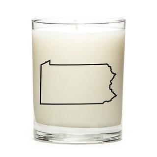 Custom Gift - Map Outline of Pensylvania U.S State, Lemon
