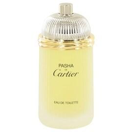 PASHA DE CARTIER by Cartier Eau De Toilette Spray (Tester) 3.3 oz - Men