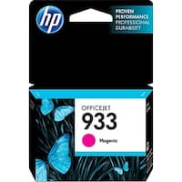 HP 933 Magenta Original Ink Cartridge (CN059AN)(Single Pack)