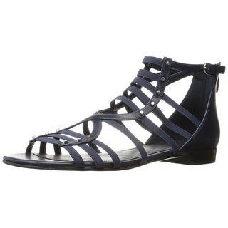 Marc Fisher Womens partner Leather Open Toe Special Occasion Strappy Sandals (More options available)