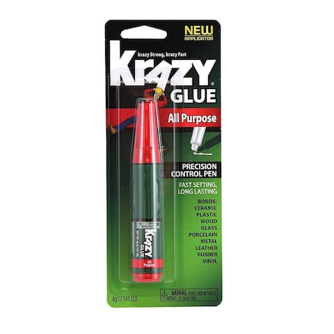 Krazy Glue KG82948MR All Purpose Precision Control Pen, 4 Gram