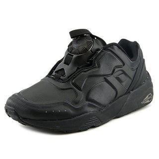 Puma Disc 89 Youth Round Toe Synthetic Black Walking Shoe