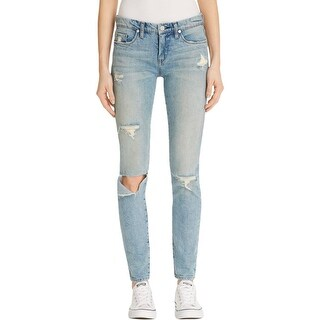 Blank NYC Womens Jeans Skinny Destroyed