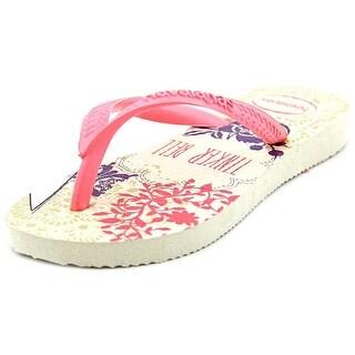 Havaianas Kids Slim Tinkerbell Toddler Open Toe Synthetic Pink Flip Flop Sandal