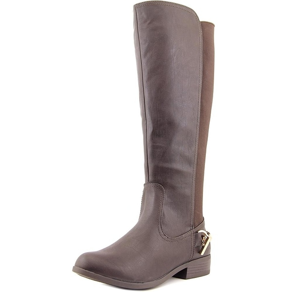 Nautica Ridgeland Women Round Toe Leather Brown Knee High Boot