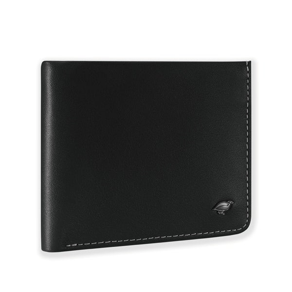 Ikepod Hide & Carry Wallet (Black of 4 Color) [ Italy Made // Top Leather]