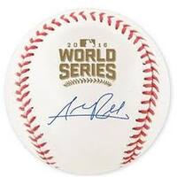 Addison Russell Signed Chicago Cubs 2016 World Series Baseball JSA