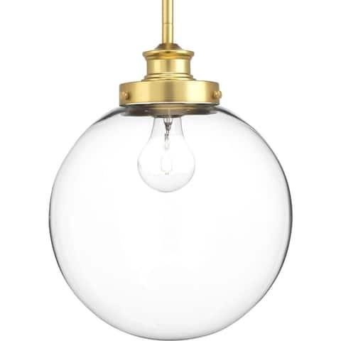 """Carbon Loft McKinnon 1-light Orb Pendant - 13.250"""" x 12.500"""" x 19.250"""""""