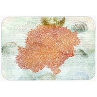 Carolines Treasures SB3023LCB Coral Pink Glass Cutting Board, Large