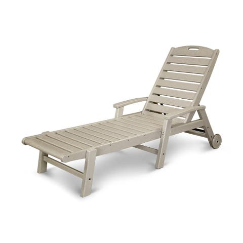 Trex Outdoor Furniture Yacht Club Wheeled Chaise