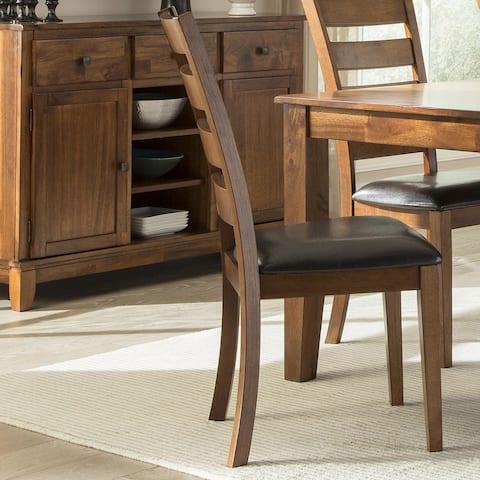 Kona Brandy Ladderback Dining Chairs (Set of 2)