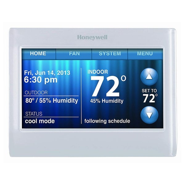 Shop Honeywell Wifi 9000 Color Touchscreen Thermostat