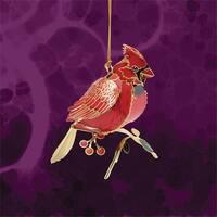 ChemArt 52071 3D Cardinal Ornament