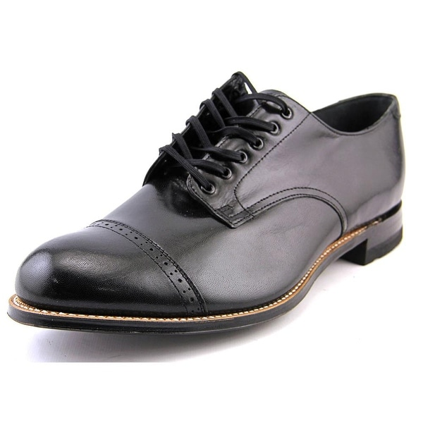 3187c05ce34 Shop Stacy Adams Madison Lace Up Cap Oxford Men 2E Cap Toe Leather ...