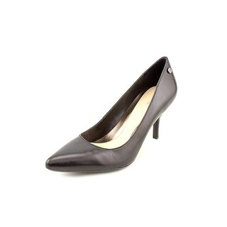 Calvin Klein Ashley Pointed Toe Leather Heels