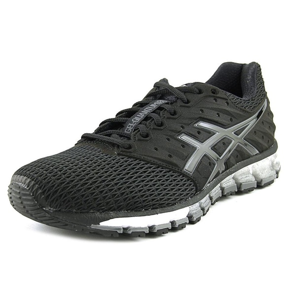 Asics Gel-Quantum 180 2 Men Round Toe Synthetic Black Running Shoe