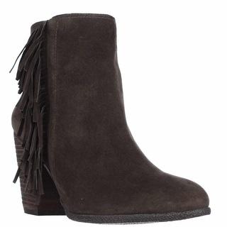 Vince Camuto Hayzee Fringe Ankle Boots, Italian Olive