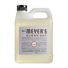 Mrs. Meyer's Clean Day 11163 Liquid Soap Refill, 33 Oz, Lavender