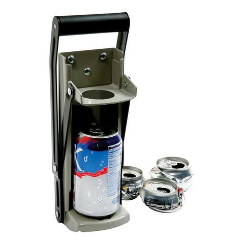Norpro 1305 Can Crusher, Steel, Black/Silver