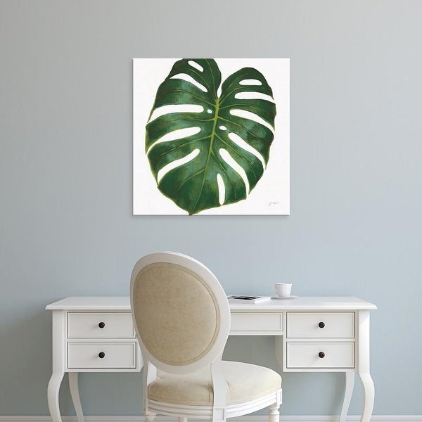 Easy Art Prints Janelle Penner's 'Welcome to Paradise XIII on White' Premium Canvas Art