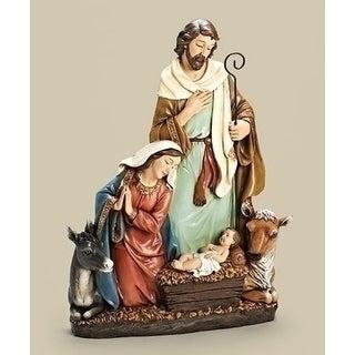 "23"" Joseph Studio Holy Family with Donkey & Ox Christmas Nativity Statue"