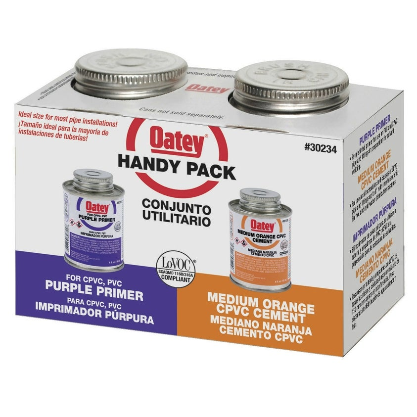 Oatey 30234 CPVC Solvent Cement Weld Kit