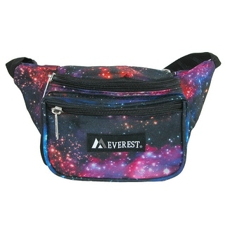 Everest Pattern Multi Compartment Waistpack