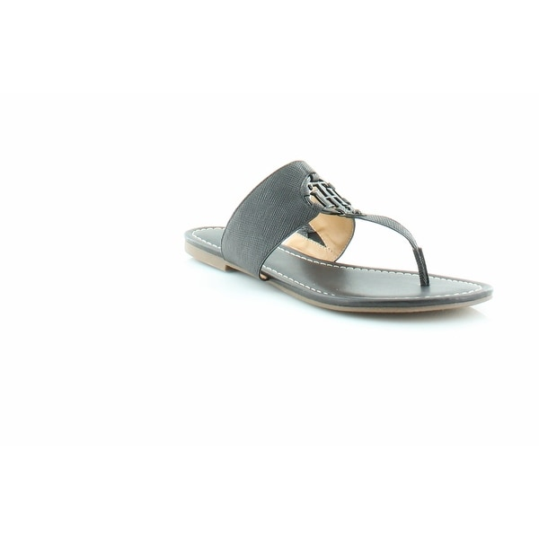 Tommy Hilfiger Sia Women's Sandals & Flip Flops Black - 5.5
