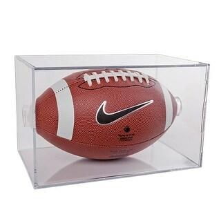 BallQube Football Holder Display Case Cube