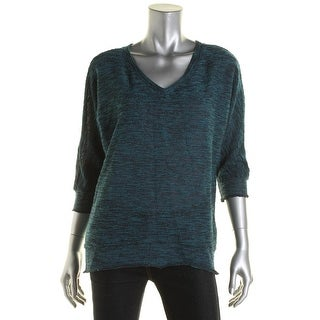 Kut From The Kloth Womens Kint Solid Pullover Top