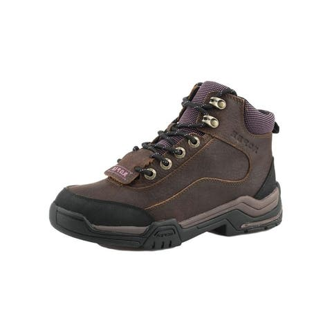 Roper Outdoor Shoes Womens Terra Lace Brown