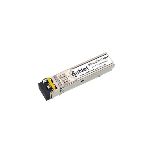ENET GSF9142-55-ENC ENET Harmonic Compatible GSF 9142-55 1000BASE-CWDM SFP 1550nm 80km DOM Duplex LC SMF Compatibility Tested
