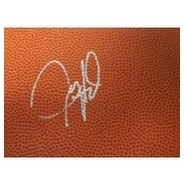 Signed Howard Juwan 4x6 Basketball Surface Card autographed