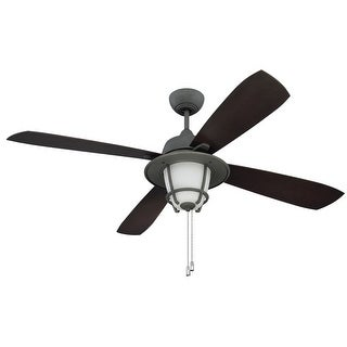 """Craftmade Morrow Bay Morrow Bay 56"""" 4 Blade Indoor / Outdoor Ceiling Fan - Blades and Light Kit Included"""