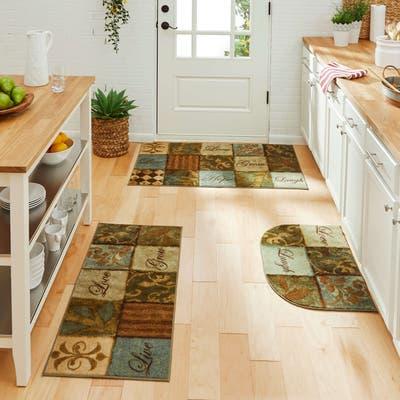 Mohawk Home Les Fleurs La Terre Kitchen Mat Accent Rug