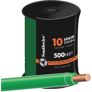 Southwire 500 10Sol Grn Thhn Wire