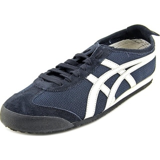 Onitsuka Tiger by Asics Mexico 66 Men Round Toe Canvas Blue Sneakers