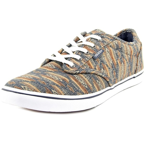 Vans Atwood Low Women  Round Toe Canvas Brown Skate Shoe