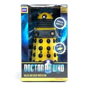 "Doctor Who USB 8"" Desk Protector Figure: Yellow Dalek - multi"